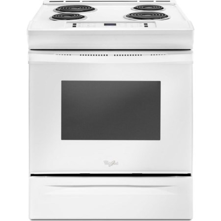 4.8 Cu. Ft. Coil Electric Range