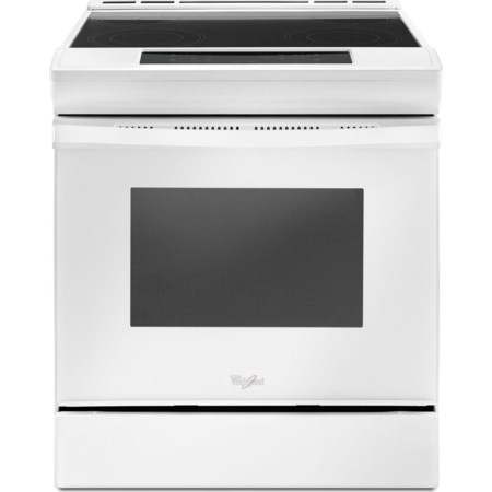 4.8 cu. ft. Electric Front Control Range