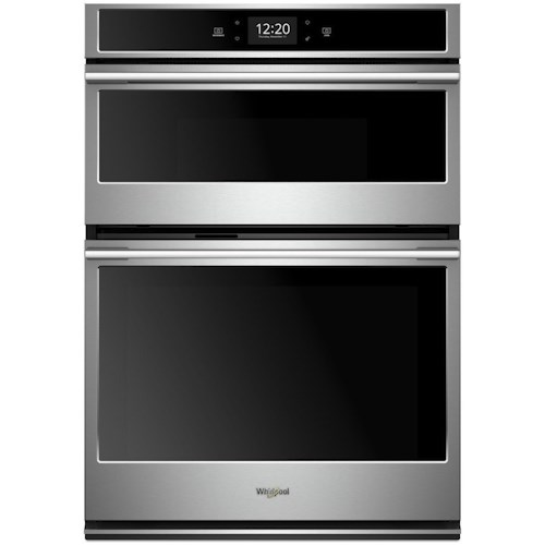 Whirlpool Electric Wall Ovens 6 4 Cu Ft Smart Combination Oven With