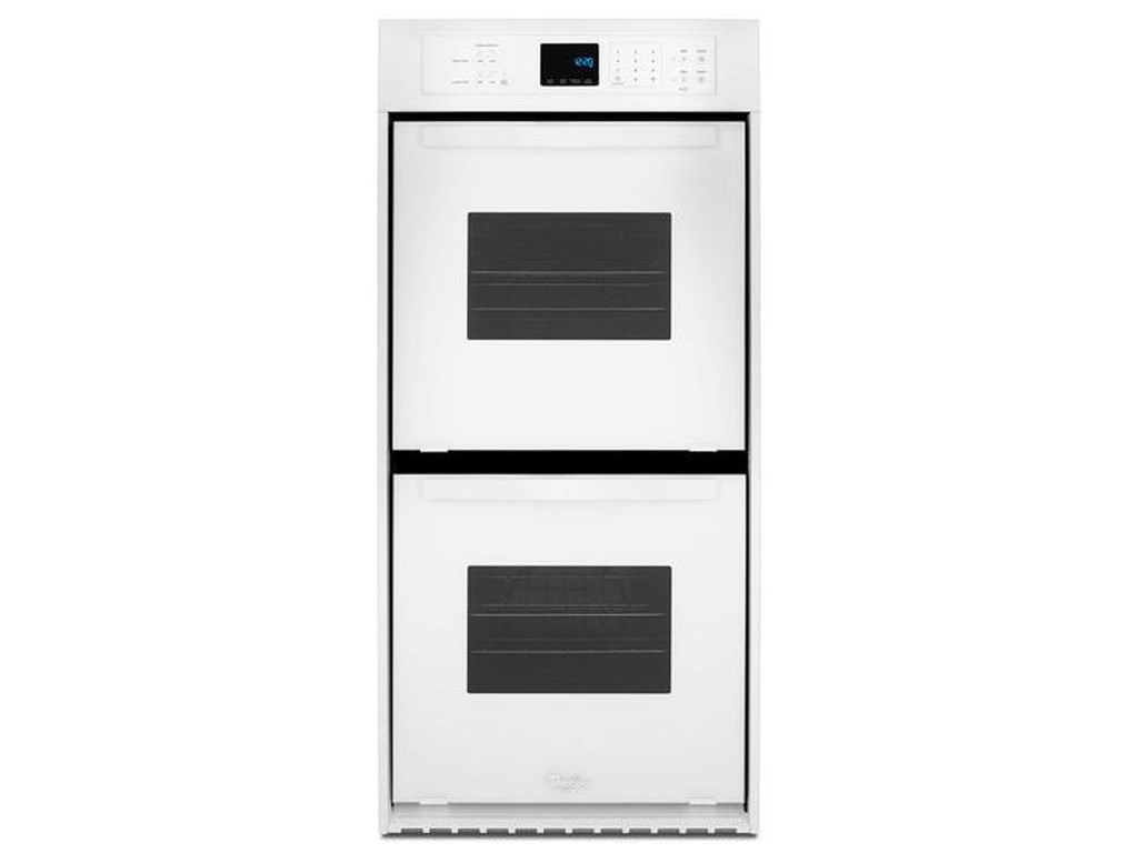 Electric Wall Ovens Whirlpool 6 2 Cu Ft Double Oven With High Heat Self Cleaning System By At Furniture And Liancemart