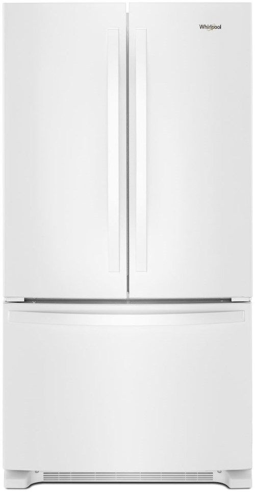 Whirlpool French Door Refrigerators 36-inch Wide French Door Refrigerator with Water Dispenser - 25 cu. ft.
