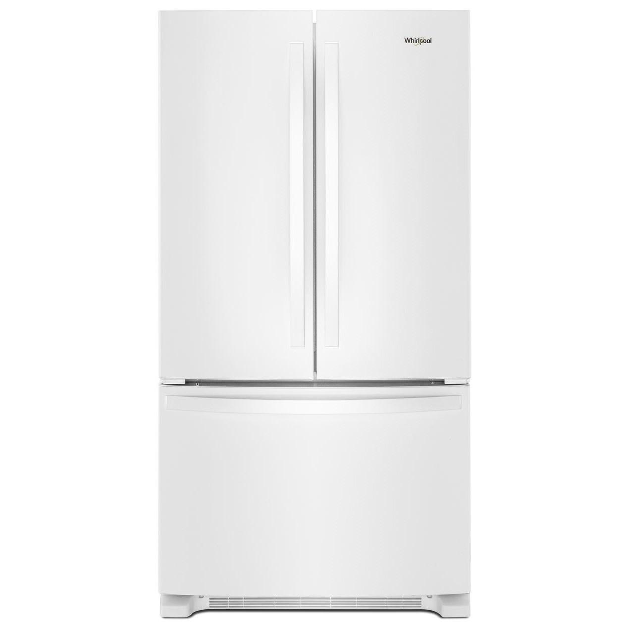 Whirlpool French Door Refrigerators 36 Inch Wide French Door Refrigerator  With Water Dispenser   25