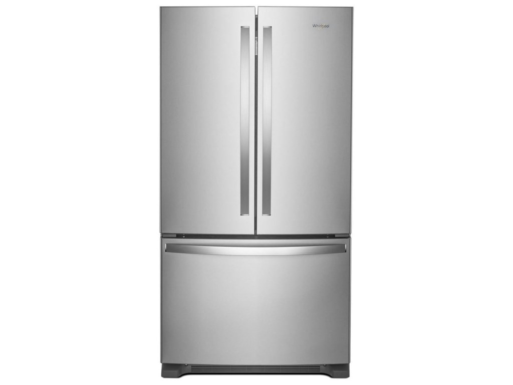 Whirlpool 36-inch Wide French Door Refrigerator with Water Dispenser ...