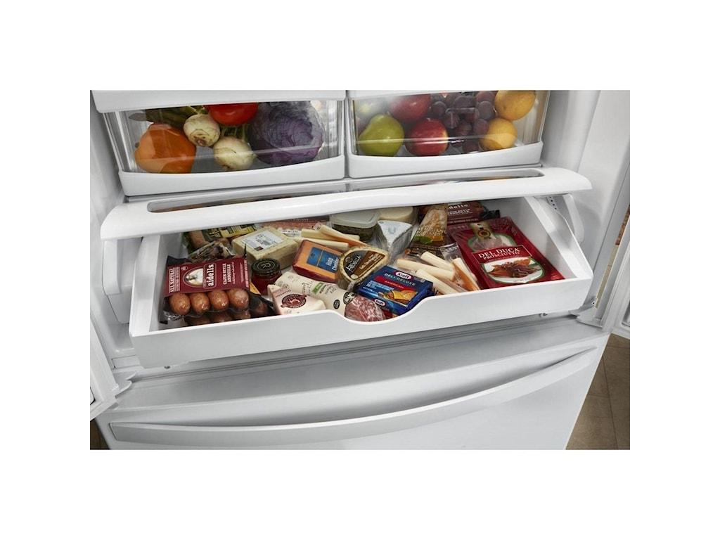 Whirlpool French Door Refrigerators20 Cu. Ft. Counter Depth French Door Fridge