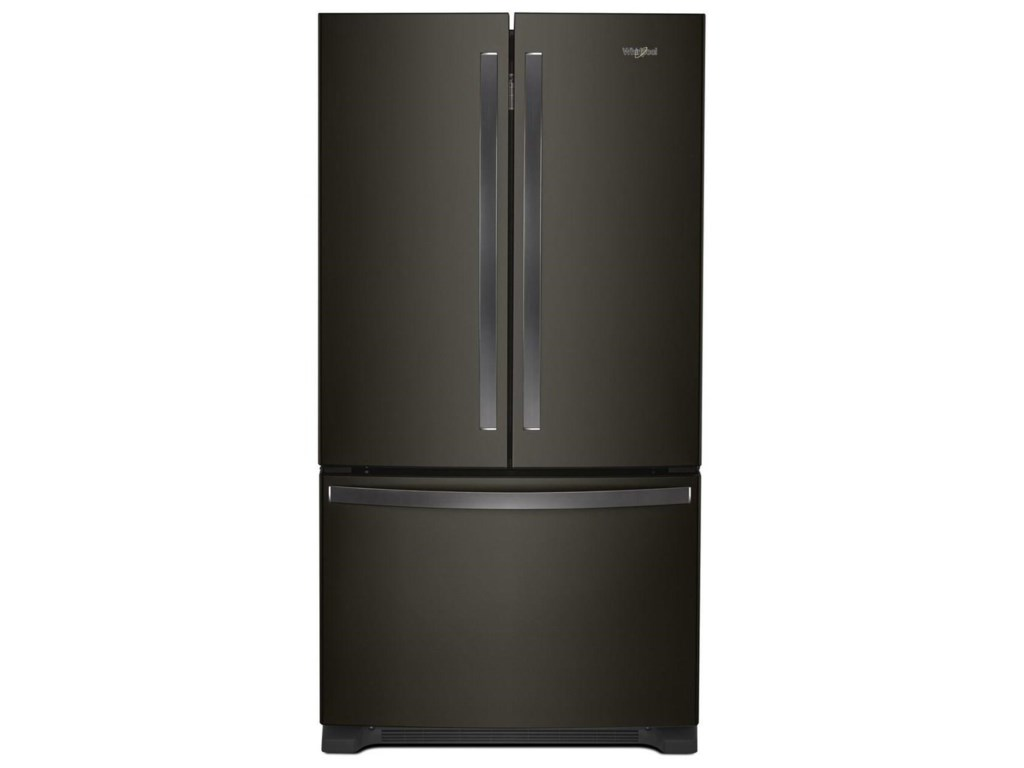 Whirlpool French Door Refrigerators20 Cu. Ft. Counter Depth French Door Fridge
