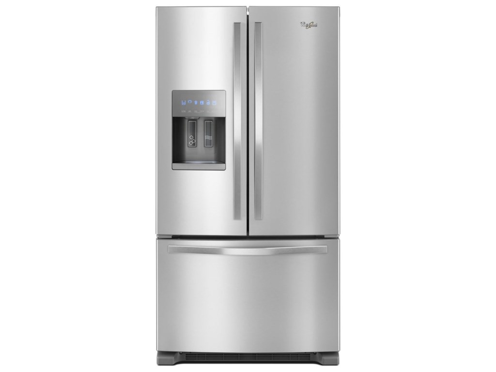 stainless ft doors cu with showcase door refrigerator steel french watch youtube