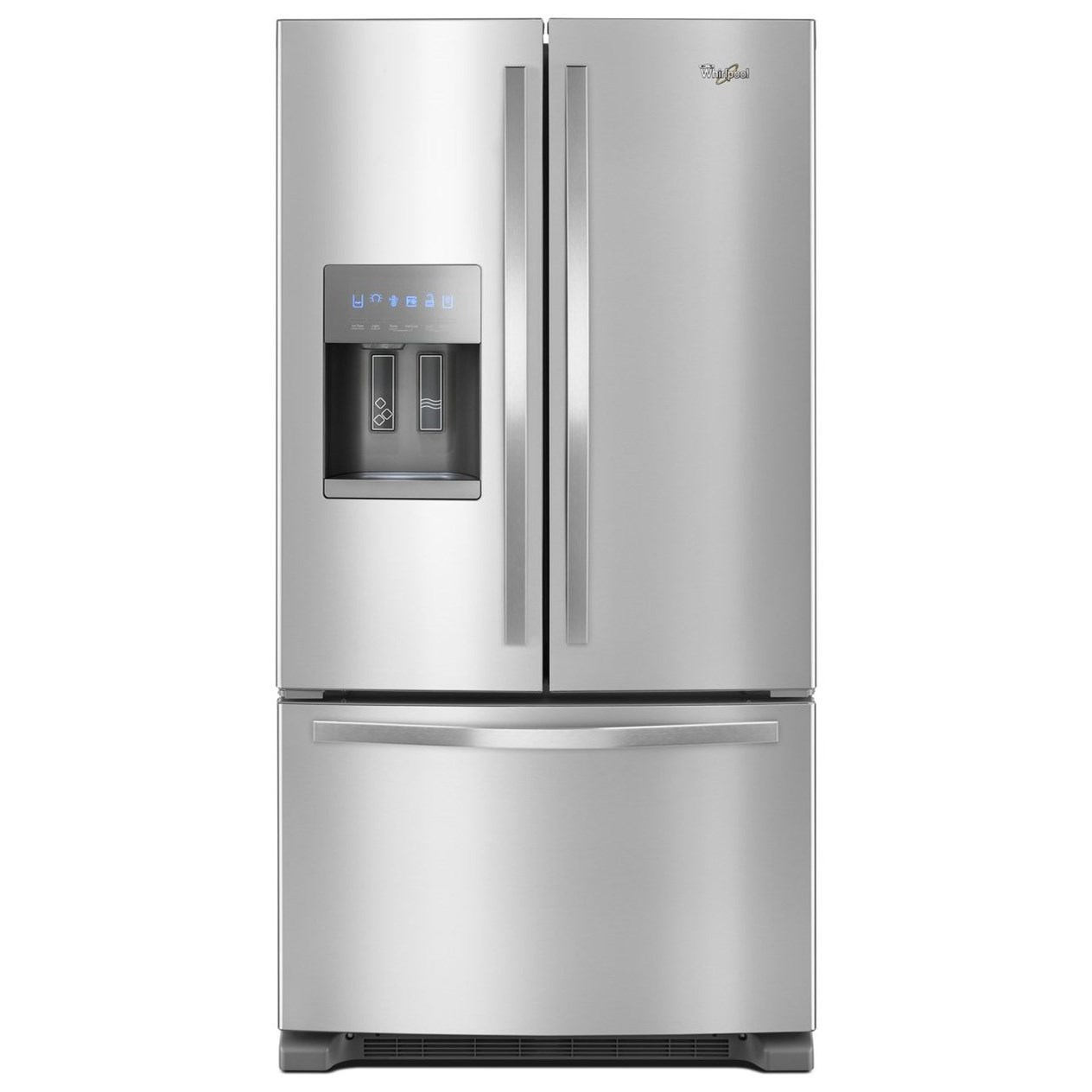 Captivating Whirlpool French Door Refrigerators36 Inch Wide French Door Refrigerator ...