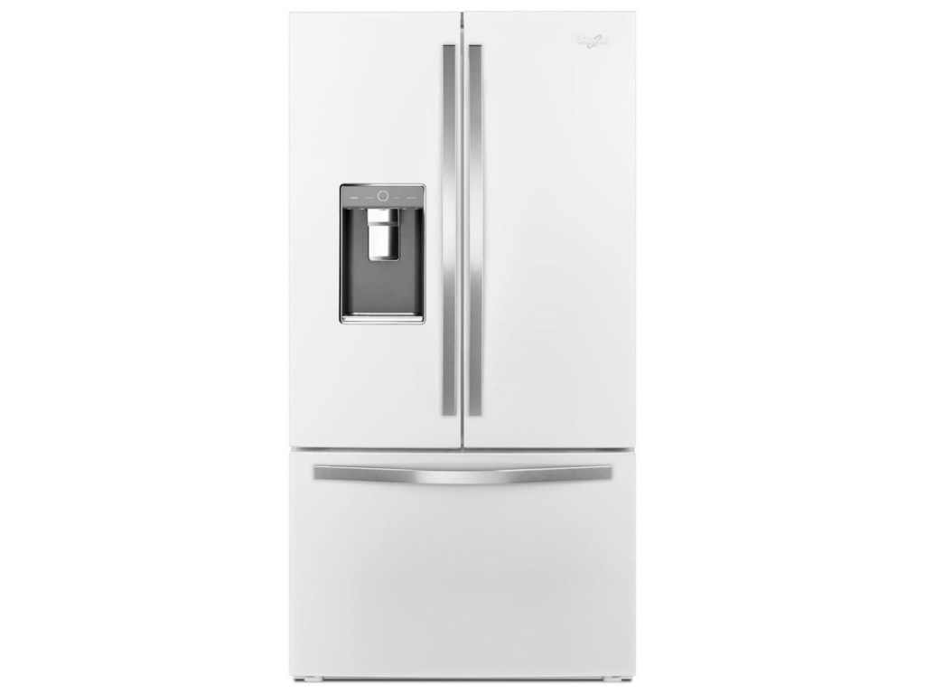 Whirlpool Wrf992fifh36 Inch Wide French Door Refrigerator With
