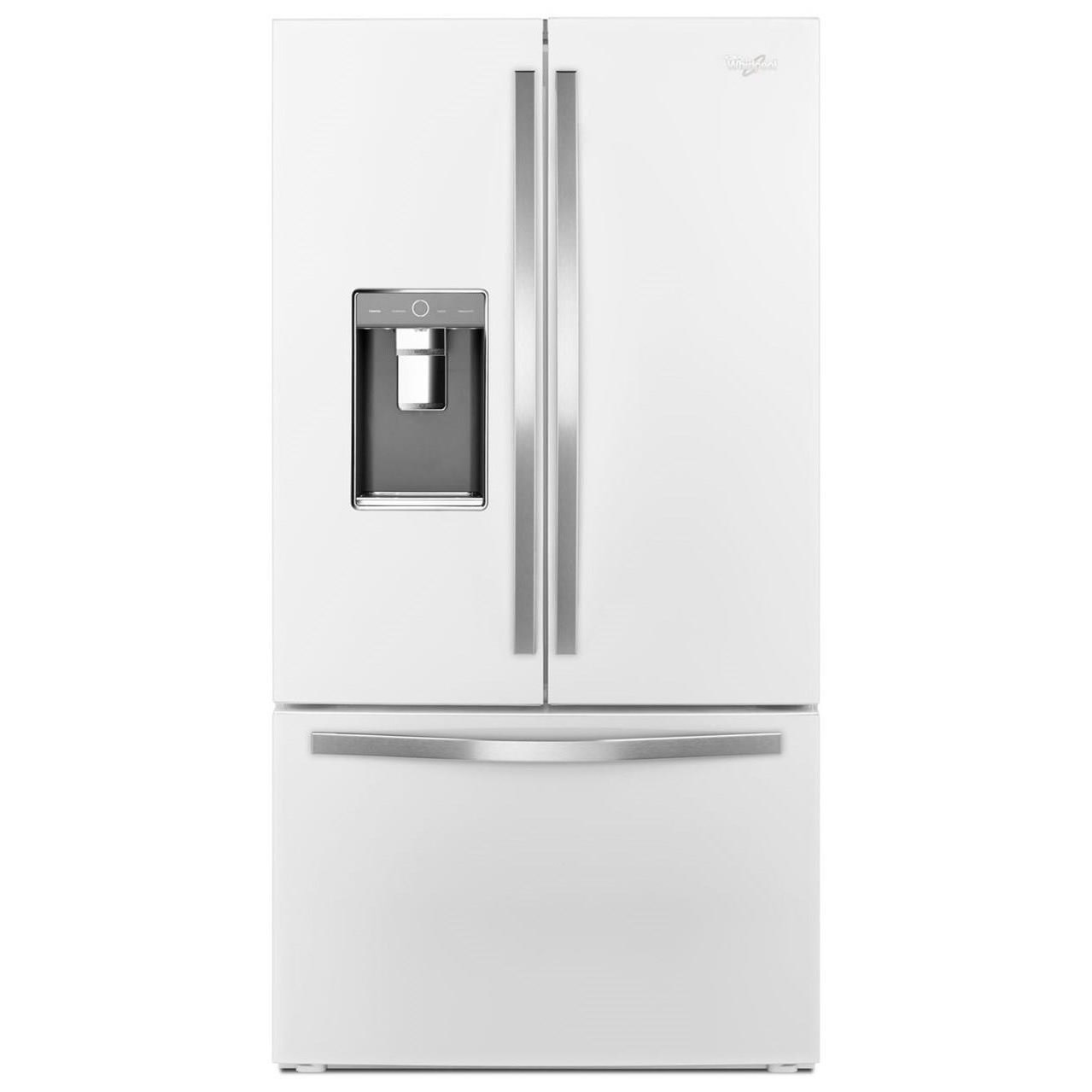 Bon Whirlpool French Door Refrigerators36 Inch Wide French Door Refrigerator ...