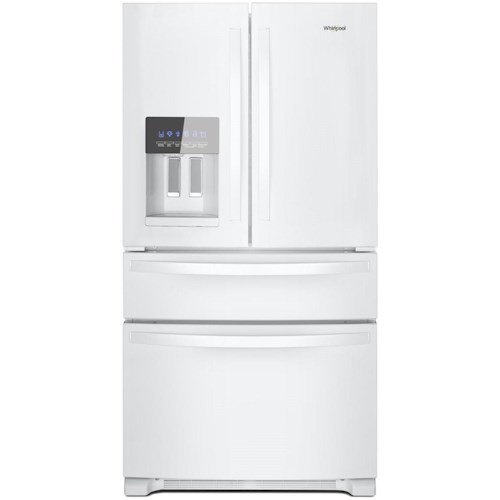 Whirlpool 36 Inch Wide French Door Refrigerator 25 Cu Ft