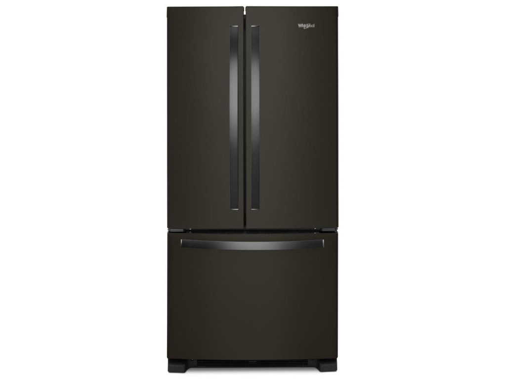 Whirlpool 33 Inch Wide French Door Refrigerator 22 Cu Ft