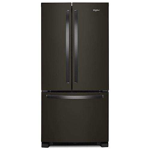 Whirlpool 33 Inch Wide French Door Refrigerator 22 Cu Ft