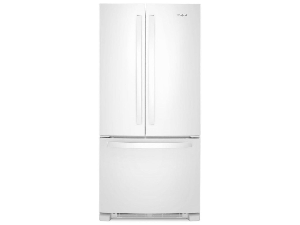 Whirlpool Wrf532smhw33 Inch Wide French Door Refrigerator 22 Cu