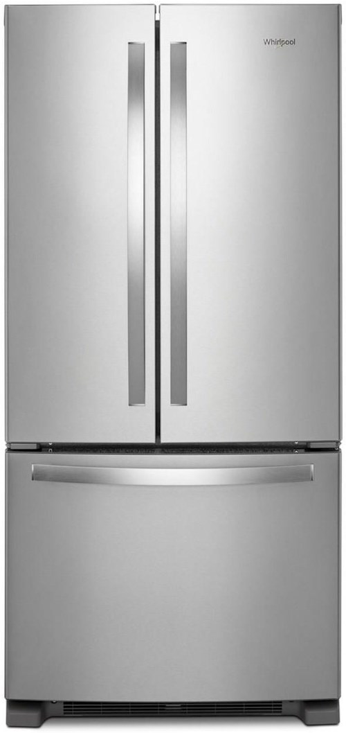 33 Inch Wide French Door Refrigerator 22 Cu Ft French Door