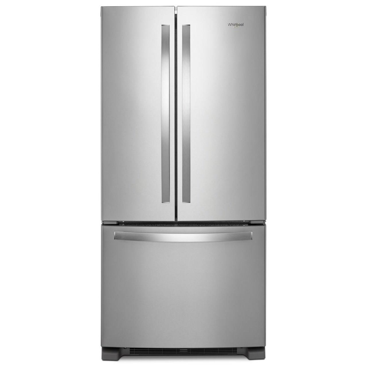 Whirlpool French Door Refrigerators 33 Inch Wide French Door Refrigerator    22 Cu. Ft