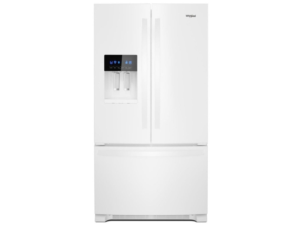 Whirlpool Wrf555sdhw36 Inch Wide French Door Refrigerator 25 Cu Ft