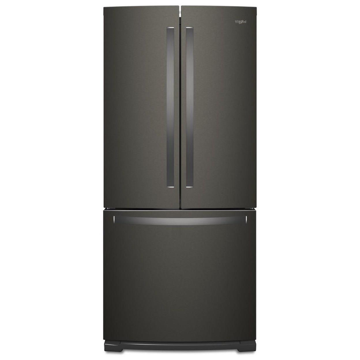 Whirlpool French Door Refrigerators 30 Inch Wide French Door Refrigerator    20 Cu. Ft
