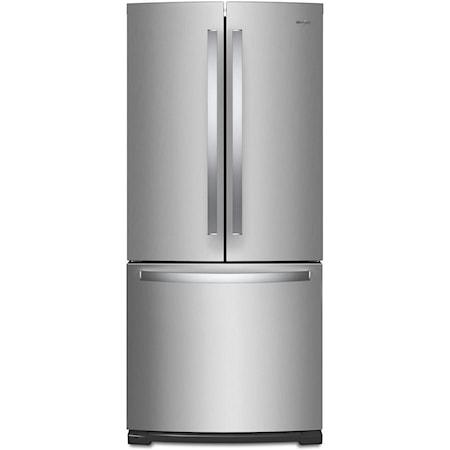 """20 Cu. Ft. 30"""" French Door Refrigerator"""