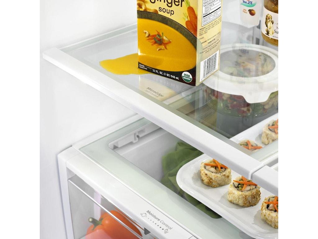 MicroEdge® Shelves Keeps Spills Under Control