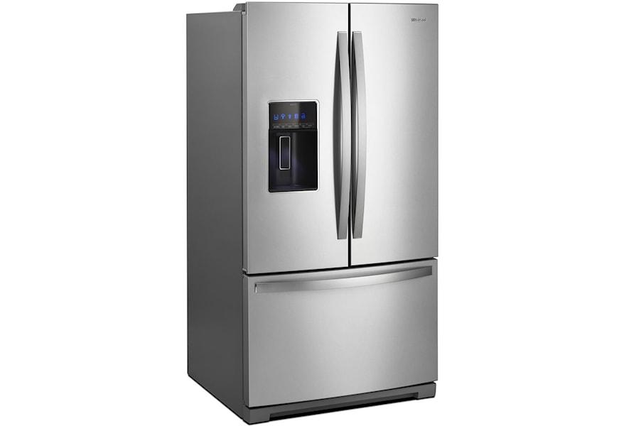Whirlpool Wrf767sdhz Energy Star 27 Cu Ft French Door Refrigerator Furniture And Appliancemart Refrigerator French Door