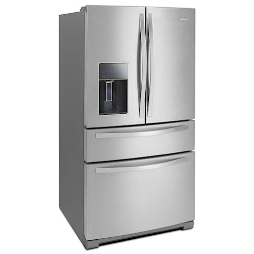 Whirlpool French Door Refrigerators 28 cu. ft. 4-Door French Door Refrigerator with the Most Flexible Storage