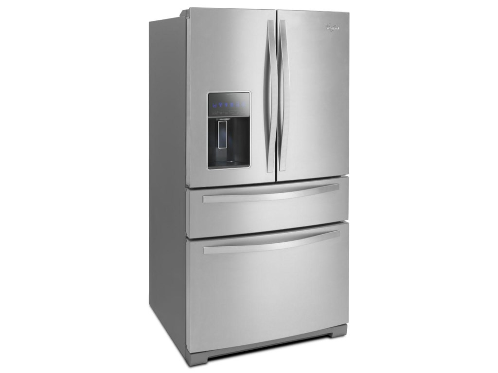 Whirlpool 28 Cu Ft 4 Door French Door Refrigerator With The Most