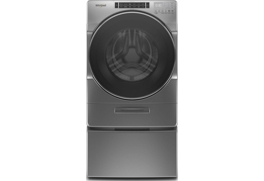 Whirlpool Wfw862chc 4 3 Cu Ft Closet Depth Front Load Washer With Load Go Xl Dispenser Furniture And Appliancemart Washers Front Load