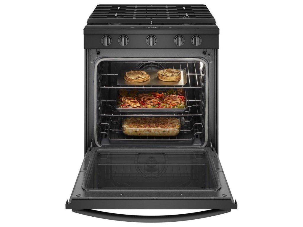 Whirlpool Gas Ranges5.8 Cu. Ft. Smart Slide-in Gas Range