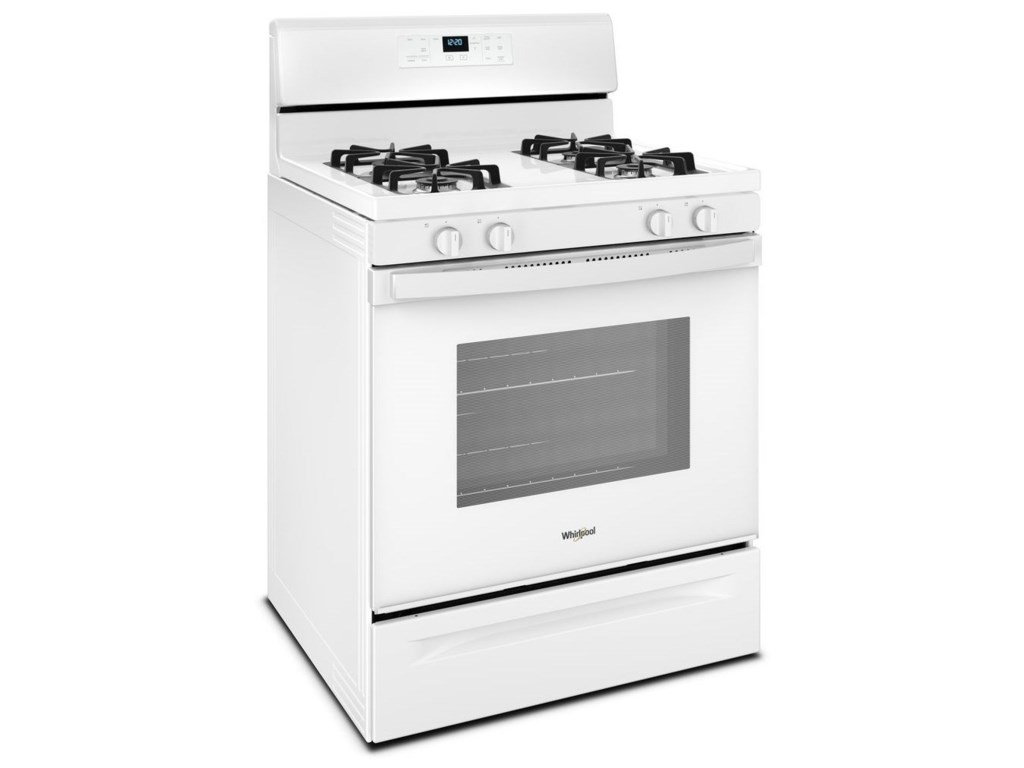 Whirlpool 50 Cu Ft Freestanding Gas Range With Adjustable Self Have A Gold Accubake Oven The Power Has Been Ranges50