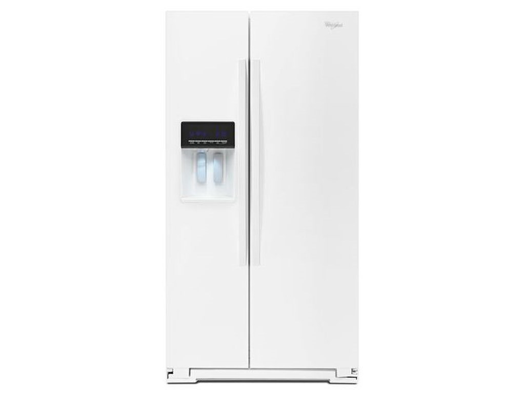 Whirlpool Side By Refrigerators20 6 Cu Ft
