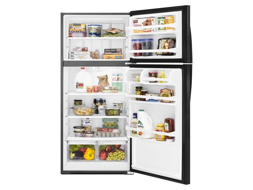 Whirlpool Top Mount Refrigerators16 Cu. Ft. Top-Freezer Refrigerator
