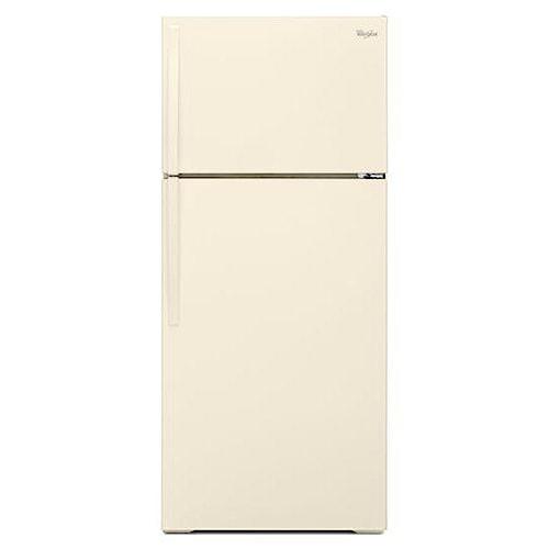 Whirlpool Top Mount Refrigerators 16 Cu. Ft. Top-Freezer Refrigerator with Improved Design