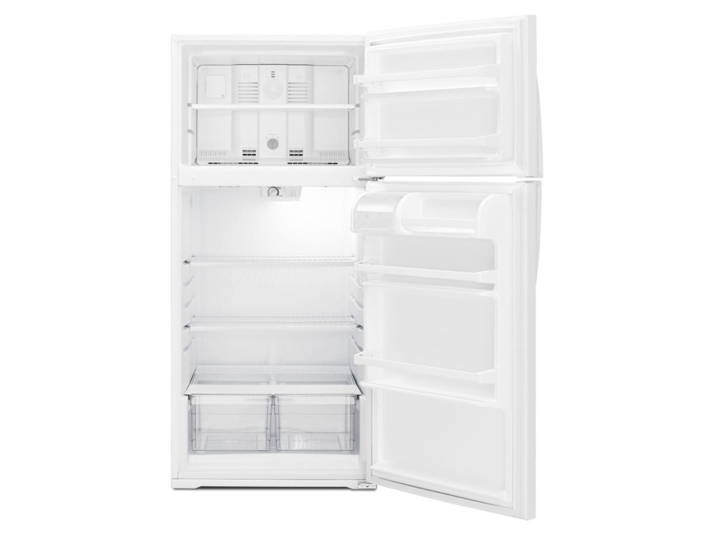 Whirlpool Top Mount Refrigerators16 Cu. Ft. Top-Freezer Refrigerator