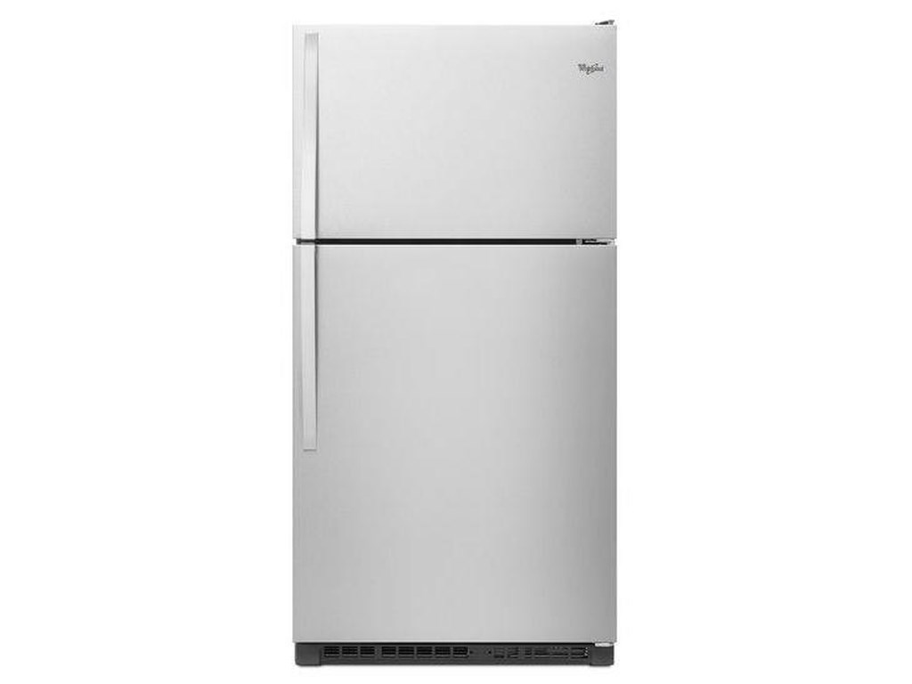 Whirlpool Top Mount Refrigerators21 Cu. Ft. Top-Freezer Refrigerator