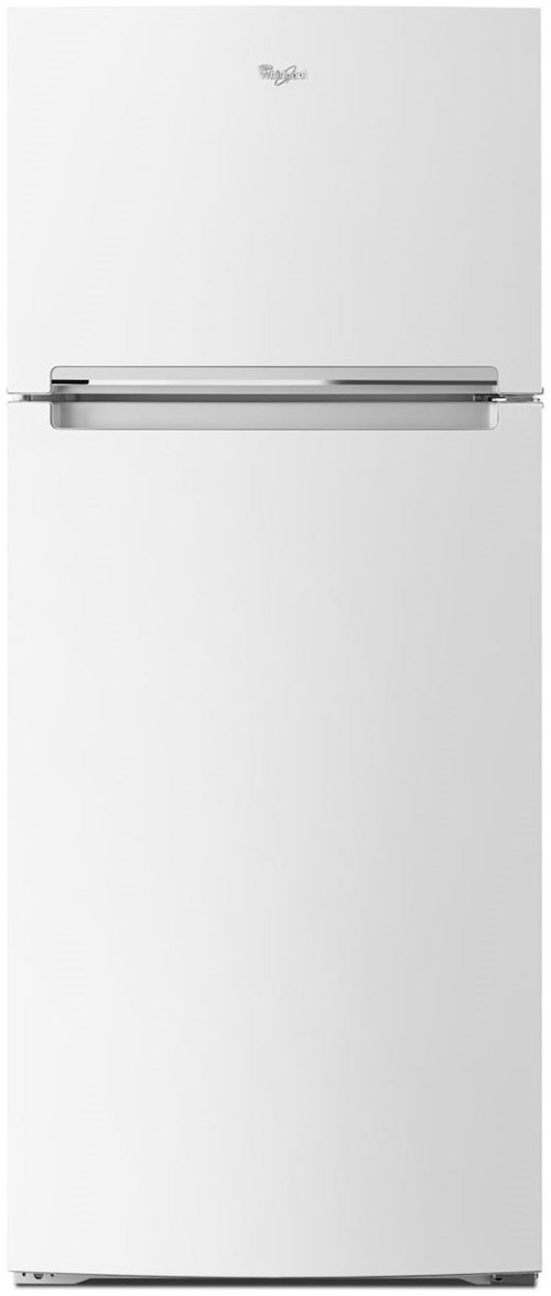 Whirlpool Top Mount Refrigerators 28-inch Wide Whirlpool® Refrigerator Compatible With The EZ Connect Icemaker Kit – 18 Cu. Ft.
