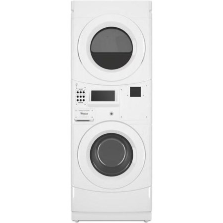 Commercial Electric Stack Washer and Dryer