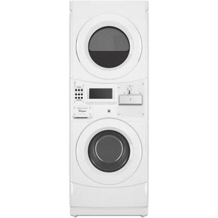 Commercial Gas Stack Washer and Dryer