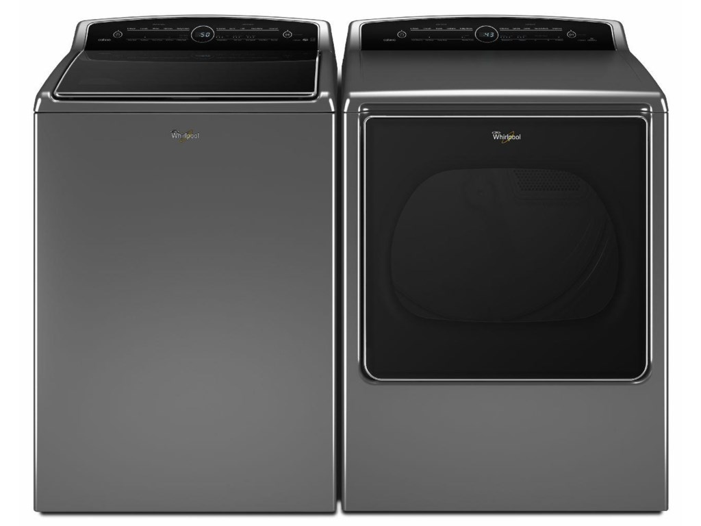 Whirlpool Washer And Dryer Setstop Load Front Elec