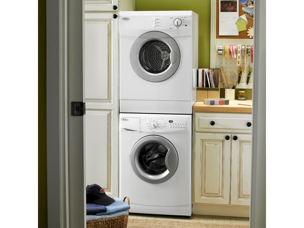 Shown with Stacked Dryer Option
