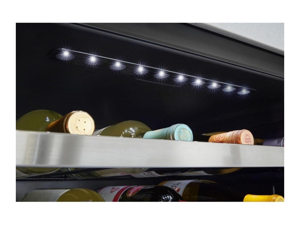 Whirlpool Wine Cellars15-inch Wide Undercounter Wine Center with 3
