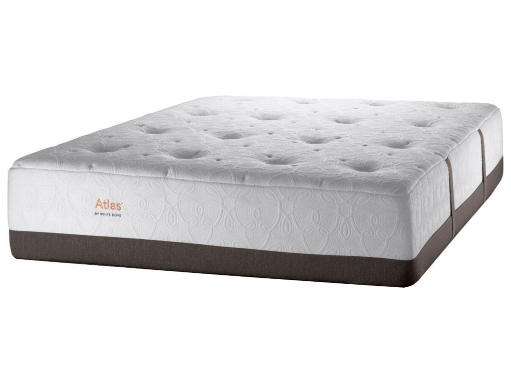 White Dove Mattress Atlas 4350Full Plush Pocketed Coil Mattress