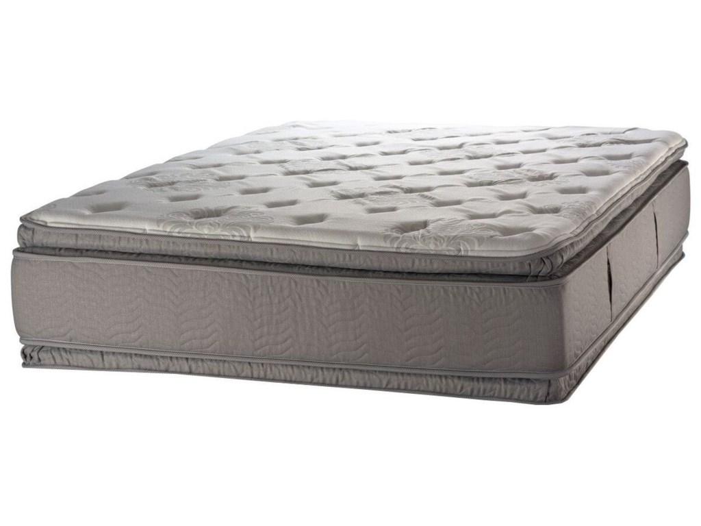 White Dove Mattress Duality Florence PT FlrncPT-Q Queen Pillow Top Two  Sided Mattress