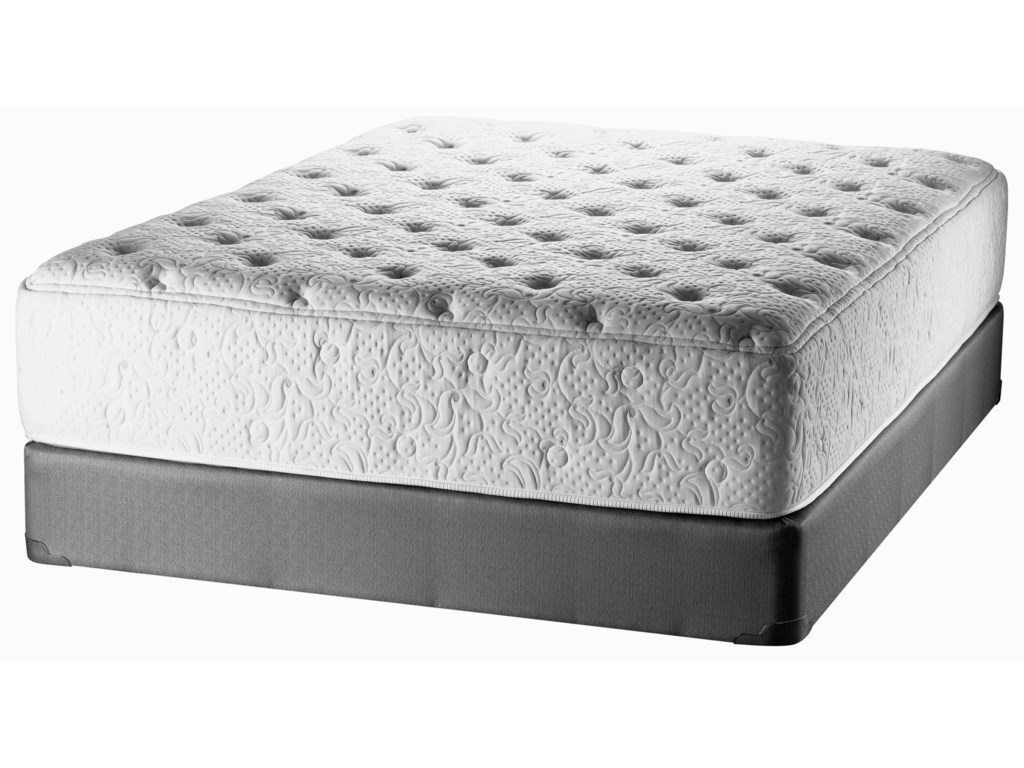 White Dove Mattress Natures Legacy Latex WillowTwin Mattress & Box Spring Set