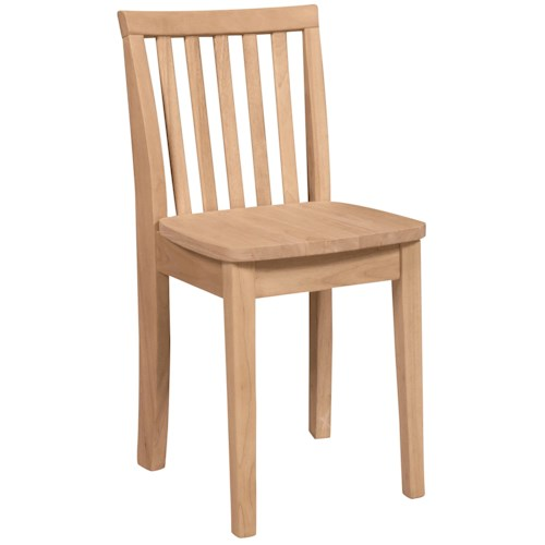 Whitewood Juvenile Mission-Style Child's Chair