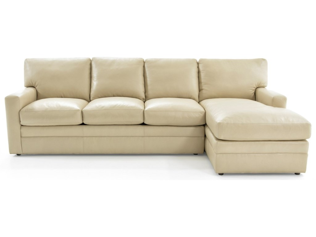 Whittemore-Sherrill 4422 Pc L-Shape Sectional Sofa w/ RAF Chaise