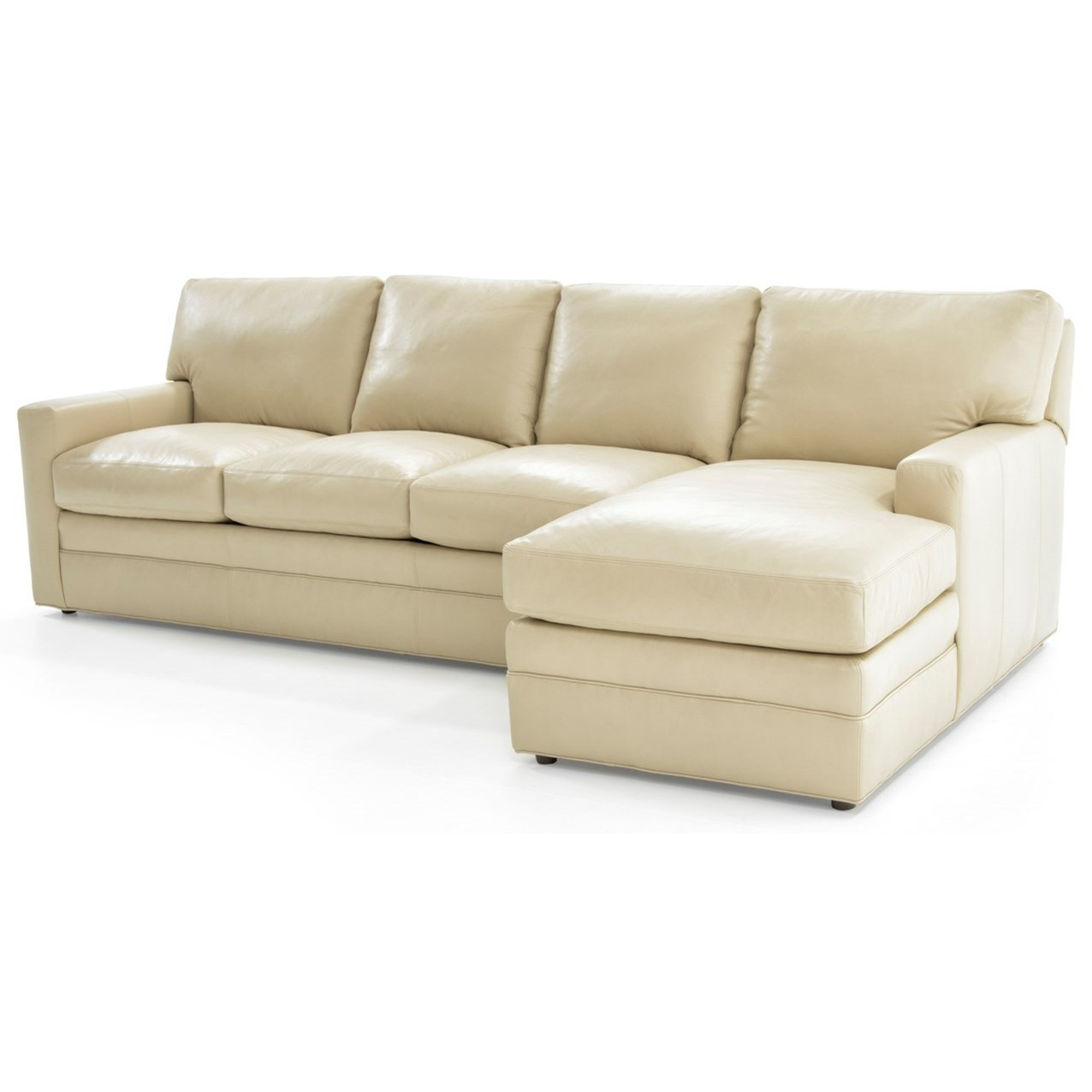 ... Whittemore Sherrill 4422 Pc L Shape Sectional Sofa W/ RAF Chaise ...