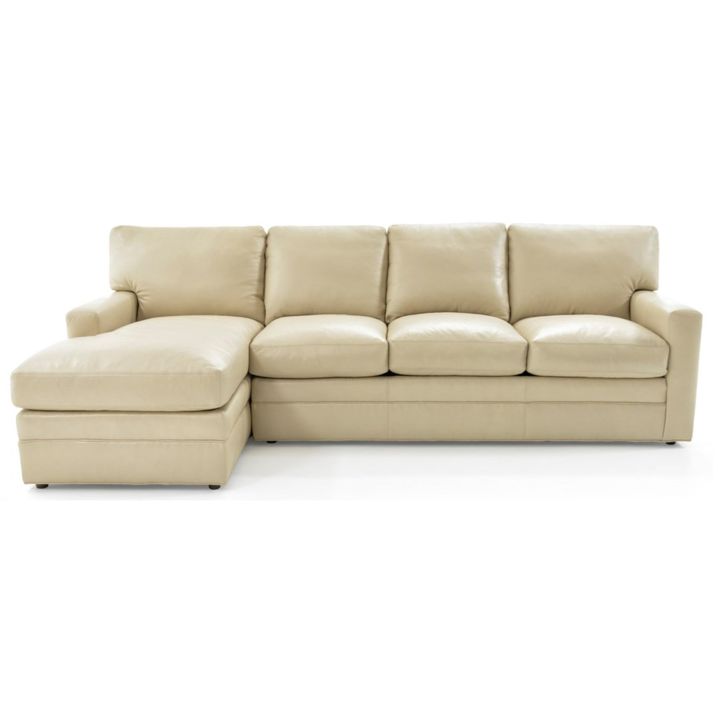 Whittemore Sherrill 442 Two Piece L Shape Sectional Sofa With Laf