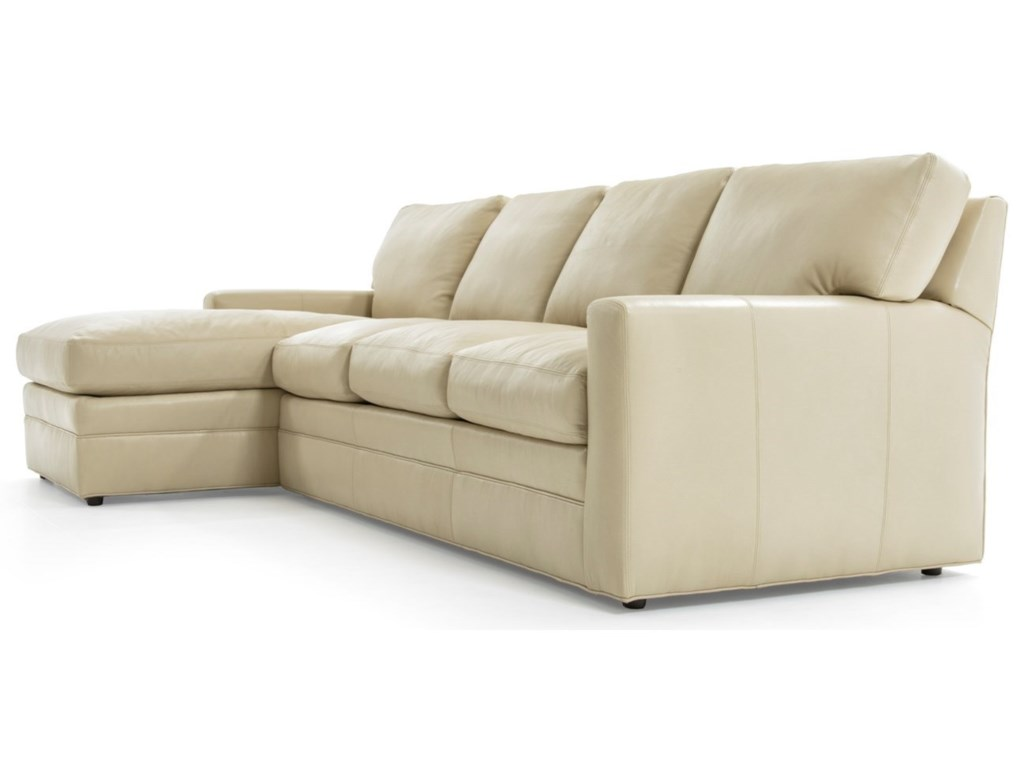 Whittemore-Sherrill 4422 Pc L-Shape Sectional Sofa w/ LAF Chaise