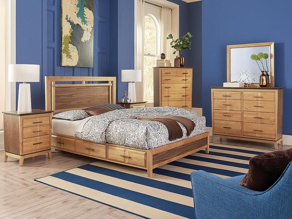 Whittier Wood AddisonAddison Queen Bedroom Group