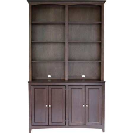 """48"""" Cabinet and Hutch"""